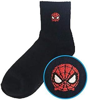 スモールプラネット スパイダーマン ワンポイント刺繍ソックス レディース マーベルツムツム マーベルコミック 446147