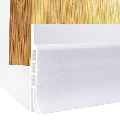 fowong Under Door Sweep Door Draft Stopper Weather Stripping Door Bottom Seal Strip,2 inch Wide X 39...