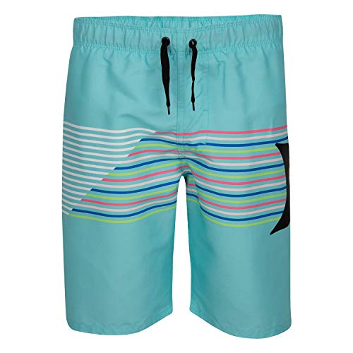 Hurley Boys' Pull On Board Shorts, Aurora Green, 2T