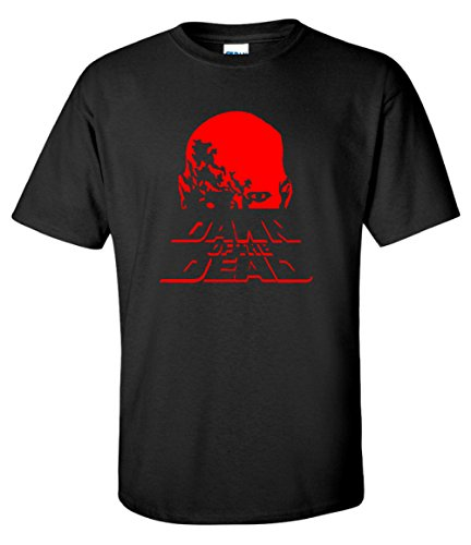 Men's Dawn of The Dead 70s Zombie Horror T-shirt, S to 3XL