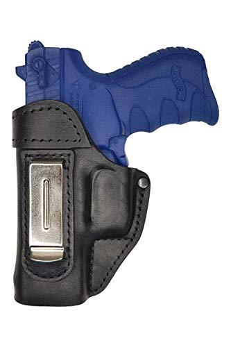 VlaMiTex IWB 2Li Funda de Piel, para Walther für P22 / Ruger SR 22, para Zurdos