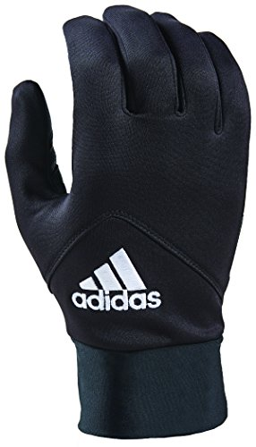 adidas AWP Shield Gloves with Multiple Touchscreen Conductivity Points - Multiple Styles Black/White, Medium-Large
