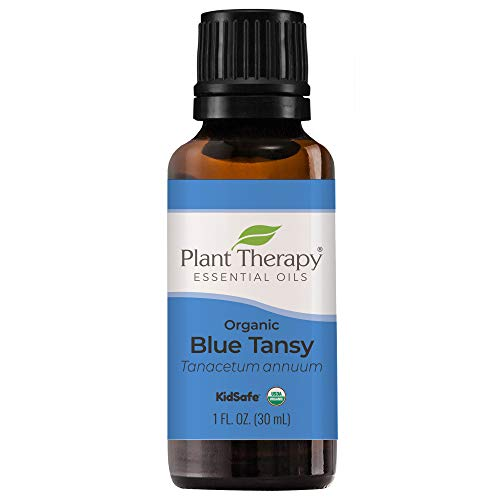 Plant Therapy Organic Blue Tansy Essential Oil 100% Pure, Undiluted, Natural Aromatherapy, Therapeutic Grade 30 mL (1 oz)