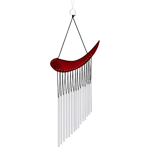 Windspiel Glocken Heilung mit Garten Outdoor Yard Decor, 15 Tubes