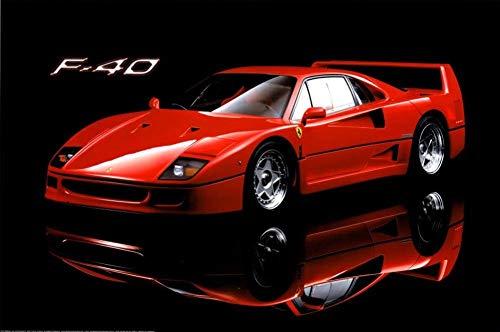 Ferrari F40 Poster Poster Print, 36x24