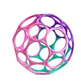 Bright Starts Oball Classic Easy-Grasp Toy - Pink/Purple,...