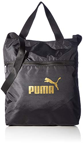 PUMA Damen WMN Core Seasonal Shopper Sporttasche, Black-Solid, OSFA