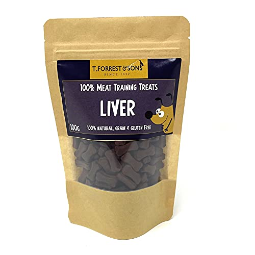 T. Forrest & Sons 100% Meat, Liver Little Training Treats x200 For Dogs,...
