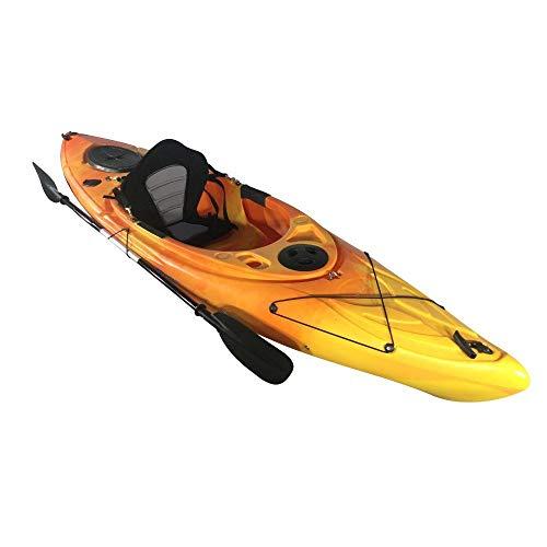 Cambridge Kayaks ES, Herring Naranja Y Amarillo Kayak DE Paseo Y Pesca, RIGIDO,