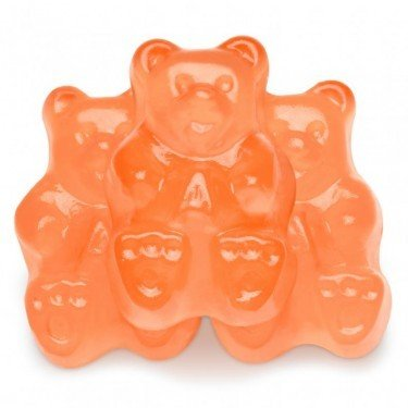 FirstChoiceCandy Albanese Gummy Bears (Peach, 2 LB)