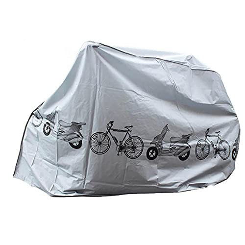 Bike Covers Dust Rain UV Protection Waterproof Bicycle Cover Indoor Outdoor Grey