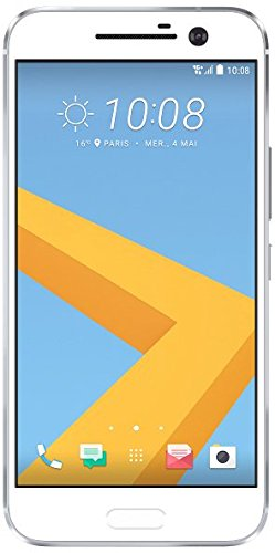 HTC 10 Smartphone (13,2 cm (5,2 Zoll) Super LCD 5 Display, 1440 x 2560 Pixel, 12 Ultrapixel, 32 GB, Android) glacier silber