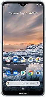 NOKIA 7.2 Android Smartphone, 6GB RAM, 128GB Memory, 6.3 FHD+ Screen, 48MP Triple Camera ZEISS Optics - Ice
