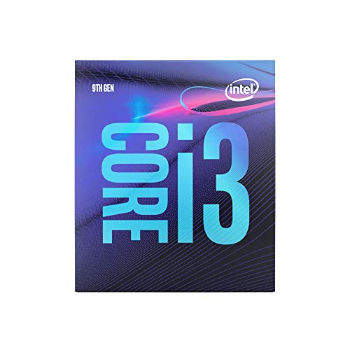 Intel Core i3-9100 processore 3,6 GHz Scatola 6 MB Cache intelligente