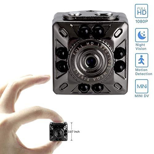 Foccoe Mini cámara Espía 1080P HD cámara de Seguridad portátil de Video y Foto con cámara de visión…