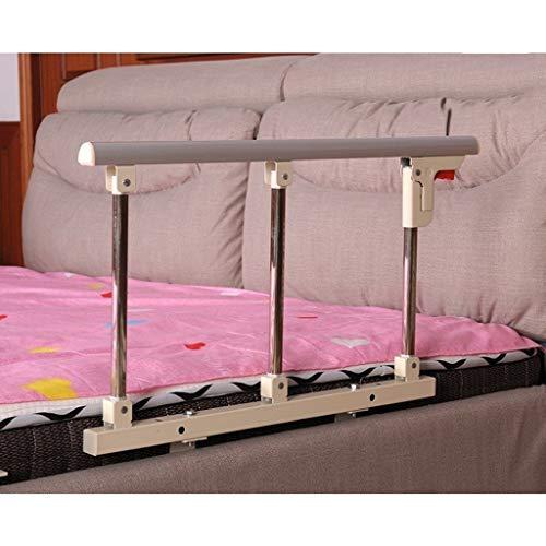GWM Bettschienen Krankenhaus Sicherheit Assist Griff Folding Bedside Haltegriff Auto, Bett Leitplanken for ältere Erwachsene Kleinkind, 70x40cm