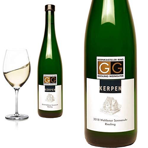 12er Karton 2018 Riesling G G Wehlener Sonnenuhr von Weingut Kerpen - Weißwein