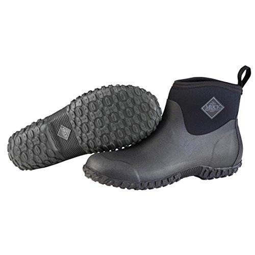 Muckster ll Ankle-Height Men's Rubber Garden Boots,Black,11 M US