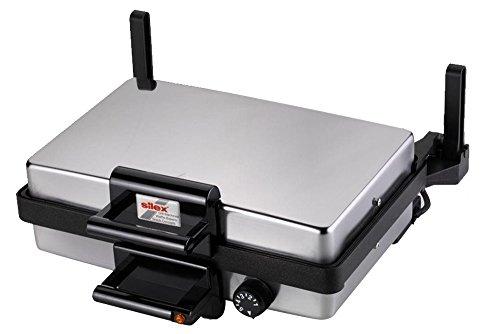 Silex Multigrill 2439 Grill und Backplatten 2000 Watt Edelstahl
