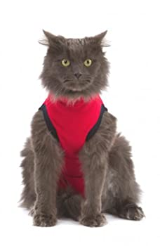 MPS Harnais pour Chat Rouge Taille S