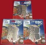 Pastillas de Freno Ebc FA261HH Set: VFR800FI4fi520042005