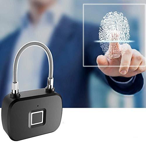 pbzydu fingerprint padlock smart keyless