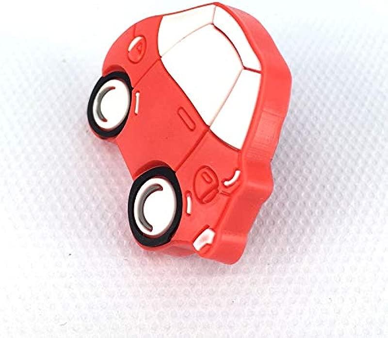 Kasuki 12PCS Hot Sale Soft Gum Dresser Drawer Knobs Pulls Red Car Kids Children Cartoon Cabinet Cupboard Wardrobe Chest Pull Knob
