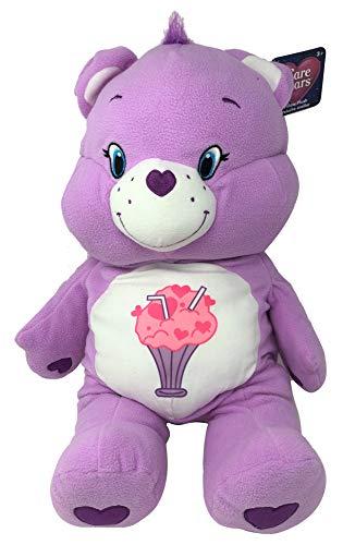 Care Bears 24' Plush Stuffed Animal, Share Bear (Lavender)