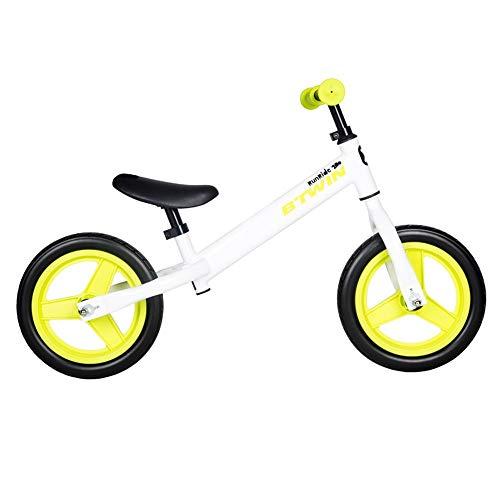 Steaean Flagship Store Slide Auto Kinder Fahrrad Roller Kind Balance Auto ohne Pedal K BTWIN weiß