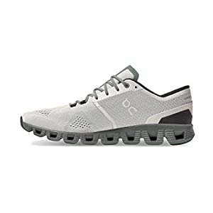 ON Running Mens Cloud X Synthetic Textile Glacier Olive Trainers 8 US