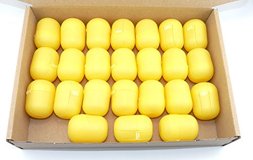 Kinder Überraschung, 24 gelbe Überraschungseier Kapseln (Ü-Eier Kapsel von Ferrero)