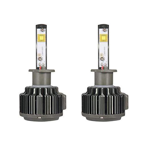 Ampoule De Phare LED 6000K Blanche 110W 26000LM Pour Ampoules Halogènes Ou Ampoules DHI Dans Un Kit De Conversion Tout-En-Un,H11