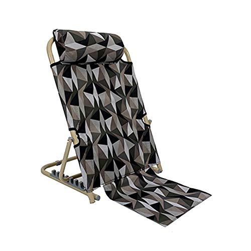WUTONG Silla de Cama Plegable Tumbonas y sillones reclinables de jardín Silla de Lectura para Juegos en el Suelo para Adultos Niños Sofá Asientos Soportes - Adecuado para el hogar u Oficina