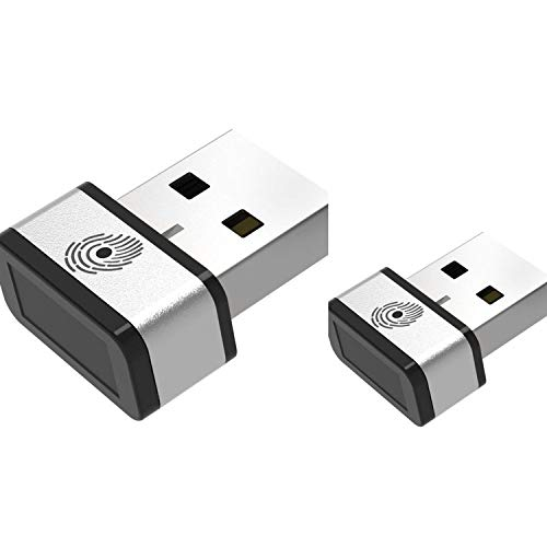 Mini USB Fingerprint Reader for Windows 7,8 & 10 Hello, PQI My Lockey 360° Touch Speedy Matching Multi Biometric fido Security Key