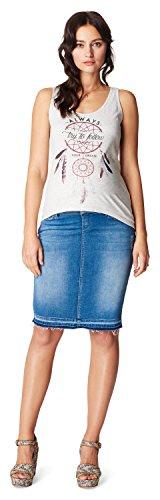 Noppies Jeans OTB Skirt Joy 70103 Falda premamá, Azul (Light Wash C290), 38(Talla del Fabricante:28) para Mujer