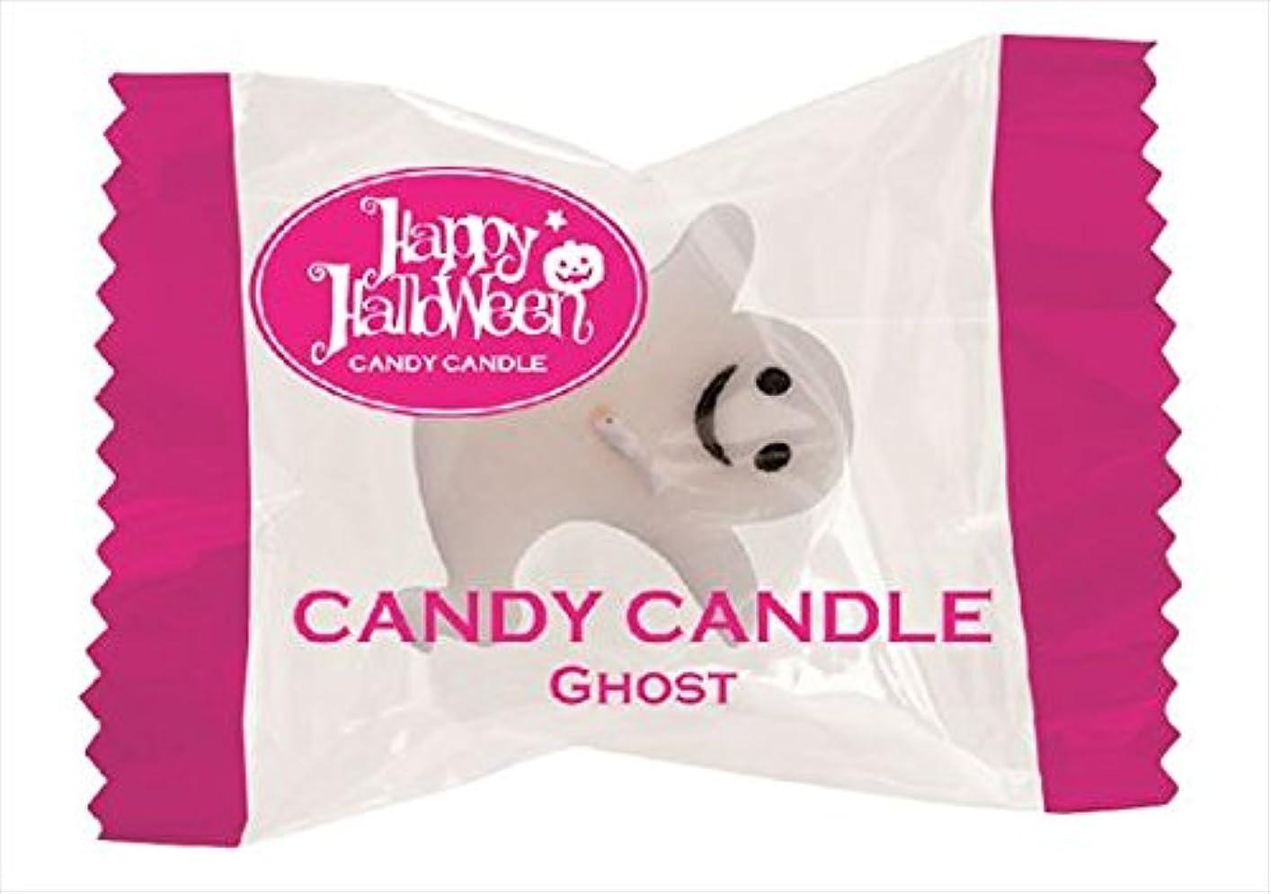 ハイキング進行中長くするカメヤマキャンドル(kameyama candle) キャンディーキャンドル 「 ゴースト 」