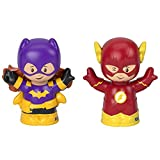 Fisher-Price Little People DC Superfriends Batgirl and The Flash - Super Hero Figure Set