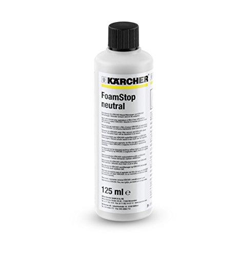 Kärcher 6.295-873.0 FoamStop neutral (125 ml, Einzelpreis),Schwarz, Weiß