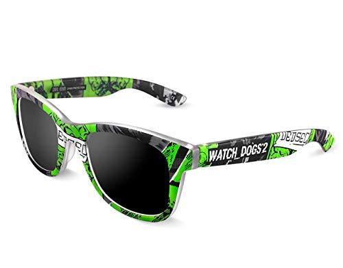 Skull Rider Watch Dogs 2 Gafas, Multicolor, Talla única Unisex Adulto