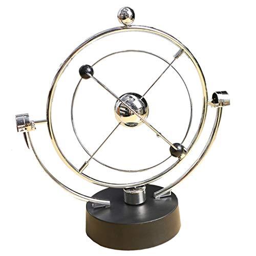 ZJL220 Electrónico Perpetuo Movimiento Escritorio Juguete Decoración del Hogar Newton Péndulo Caótico