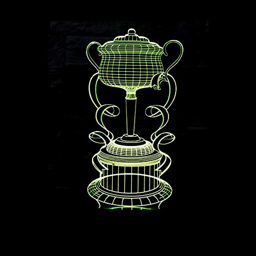 Nieuwe klantspecifieke kleurrijke visuele heldere touch van de Trofee 3D geïllustreerde illusie licht creatief helder ontwerp van het 3D 3D 3D
