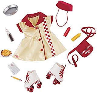 Our Generation Deluxe Waitress Outfit