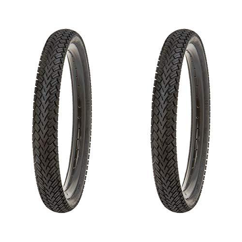 Kujo Fahrradreifen-Set, schwarz, 18 x 1,75
