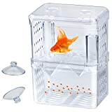 Wandefol - Caja de plástico para acuario con diseño de peces flotantes