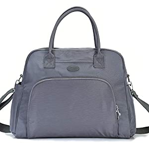 Lily & Drew Carry On Weekender Overnight Travel Shoulder Bag