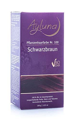 Ayluna Pflanzenhaarfarbe 100 Schwarzbraun