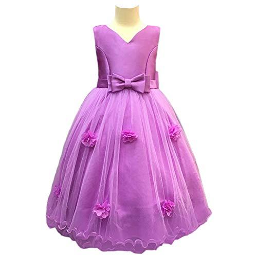 WTDlove Infantil de la Boda Vestido de la Princesa Falda Flor niño...