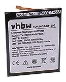 vhbw litio-polimeri batteria 2300mAh (3.8V) per cellulari e smartphone Motorola Moto Z Droid Edition X LTE, Dual SIM, TD-LTE, XT1650-01, XT1650-03
