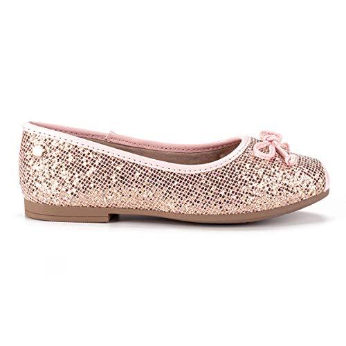 Sapatilha Pink Cats Brilho Feminino Rosa 32