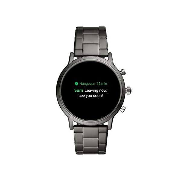 Fossil Smartwatch Gen 5 para Hombre con pantalla táctil, altavoz, frecuencia cardíaca, GPS, NFC y notificaciones… 8